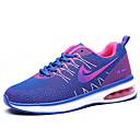 hesapli Kadın Atletik Ayakkabıları-Kadın's Atletik Ayakkabılar Düz Taban Yuvarlak Uçlu Tissage Volant Günlük Koşu İlkbahar yaz Siyah / Mor / Mavi