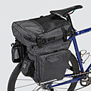 abordables Double Sacoches de Vélo-36 L Sac de Porte-Bagage / Double Sacoche de Vélo Etanche Portable Vestimentaire Sac de Vélo 600D Polyester Matériau imperméable Sac de Cyclisme Sacoche de Vélo Cyclisme Activités Extérieures Vélo