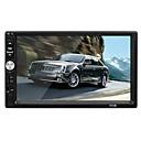 Недорогие DVD плееры для авто-1080p HD 7-дюймовый автомобильный радиоприемник стерео Bluetooth MP4 MP5 FM AUX USB-плеер Поддержка сенсорного экрана Android / IOS