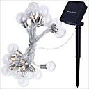 זול תאורת אופנוע-2.5 מ ' חוטי תאורה 10 נוריות לבן חם דקורטיבי סוללות AA 1set