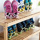 povoljno Odlaganje cipela i Vješalice-Polica i vješalica za cipele Plastika 2 parova Uniseks Plava