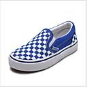 hesapli Kadın Atletik Ayakkabıları-Genç Erkek Kanvas Mokasen & Bağcıksız Ayakkabılar Küçük Çocuklar (4-7ys) Rahat Siyah / Kırmzı / Mavi Yaz