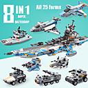 povoljno Building Blocks-Kocke za slaganje 1 pcs Ratni brod kompatibilan Legoing simuliranje Rovokopač na kotačima Borac Sve Igračke za kućne ljubimce Poklon