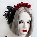 povoljno Nakit za kosu-Žene Poslastica Vintage pomodan Tekstil Željezo Trake za kosu Vjenčanje Halloween