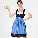 זול מגפי נשים-פסטיבל אוקטובר דירנדל טרכטנקליידר בגדי ריקוד נשים שמלה בוואריה תחפושות פול תלתן אודם
