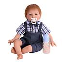 povoljno Autentične bebe-NPK DOLL Autentične bebe Nova djevojačka lutka Za muške bebe Za ženske bebe 22 inch Sigurnost Dar Slatko Dječjom Uniseks Igračke za kućne ljubimce Poklon