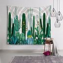 זול שטיחי קיר-נושאי גן / נושא קלאסי קיר תפאורה 100% פוליאסטר קלסי / מודרני וול ארט, קיר שטיחי קיר תַפאוּרָה
