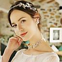 povoljno Komplet nakita-Žene Svadbeni nakit Setovi Cvjetni Tema Moda Biseri Naušnice Jewelry Zlato Za Vjenčanje Party 1set
