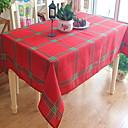זול כיסויי שולחן-יום יומי סיבי פוליאסטר ריבוע כיסויי שולחן גיאומטרי חג המולד לוח קישוטים