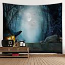 halpa Seinämaalaukset-klassinen halloween-seinäkoriste 100% polyesteriä moderni seinämaalaus, seinänapeteiden koristelu