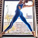 povoljno Odjeća za fitness, trčanje i jogu-Žene Prekrižene naramenice Kolaž Kombinezon za vježbanje Color block Yoga Fitness Trening u teretani Kombinezon Bez rukávů Odjeća za rekreaciju Prozračnost Ovlaživanje Quick dry Butt Lift Visoka