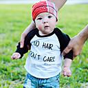 povoljno Majice za Za dječake bebe-Dijete Dječaci Aktivan / Osnovni Geometrijski oblici / Print Dugih rukava Majica s kratkim rukavima Crn