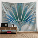 halpa Seinämaalaukset-Kukkais-teema / Klassinen teema Wall Decor 100% polyesteri Klassinen / Böömi Wall Art, Seinävaatteet Koriste