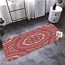 """זול מחצלות ושטיחים-1 pc מחצלות אמבטיה מודרניות / שטיחי אמבטיה קטיפה אלמוגית גיאומטרית / מופשטת 5 מ""""מ אמבטיה עיצוב חדש"""