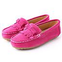 זול מוקסינים לילדים-בנות נוחות / מוקסין סוויד נעליים ללא שרוכים ילדים קטנים (4-7) / ילדים גדולים (7 שנים +) פרנזים אדום / כחול / ורוד אביב / סתיו / גומי תרמופלסטי TPR