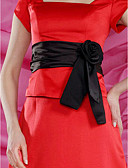 Χαμηλού Κόστους Κορδέλες για πάρτι-Σατέν Γάμου / Πάρτι / Βράδυ Ζώνη Με Φλοράλ Γυναικεία Ζώνες για Φορέματα
