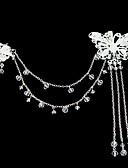 Χαμηλού Κόστους Βραδινά Φορέματα-Ακρυλικό / Κράμα Λουλούδια με 1 Γάμου / Ειδική Περίσταση / ΕΞΩΤΕΡΙΚΟΥ ΧΩΡΟΥ Headpiece