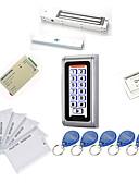 tanie Suknie wieczorowe-metalowe wodoodporne zestawy kontrolerów dostępu (zamek magnetyczny, 280 kg, 10 em-id card, zasilacz)