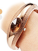 cheap Fashion Scarves-Women's Bracelet Watch Casual Watch Alloy Band Casual / Bangle / Fashion Silver / Bronze