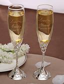 ieftine Rochii de Mireasă-Cristal Prăjire Flutes Cutie de Cadouri Temă Grădină Iarnă Primăvară Vară Toamnă