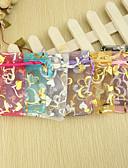 preiswerte Gastgeschenk Boxen & Verpackungen-Kreativ Organza Geschenke Halter mit Bänder Muster Geschenktaschen