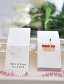 cheap Wedding Gifts-Personalized Matchbox Material / Hard Card Paper Wedding Decorations Wedding / Party Garden Theme / Wedding All Seasons