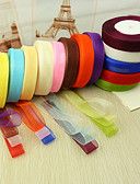 cheap Cocktail Dresses-Solid Colored Luxury Organza Wedding Ribbons Piece/Set Organza Ribbon Wedding Accessories Wedding Party Decoration