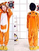 halpa Tyttöjen mekot-Kigurumi-pyjama Lasten Pojat ja tytöt Muoti Festivaali / loma Flanelli Fleece Karnevaalipuvut Lovely / Kenguru