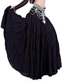 hesapli Göbek Dansı Giysileri-Göbek Dansı Alt Giyimler Kadın's Keten Doğal / Performans