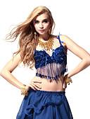 Χαμηλού Κόστους Ρούχα χορού της κοιλιάς-Χορός της κοιλιάς Μπλούζες Γυναικεία Πολυεστέρας