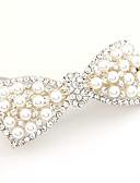 baratos Gravatas e Gravatas Borboleta-Mulheres Elegante Tecido Presilha de Cabelo - Flor / Prendedores / Prendedores