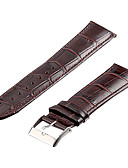 baratos Relógios Masculinos-Pulseiras de Relógio Pele Acessórios de Relógios 0.005 Alta qualidade