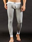 preiswerte Exotische Herrenunterwäsche-Herrn Super Sexy Solide - Lange Unterhosen 1box