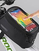 cheap Women's Fur Coats-ROSWHEEL Cell Phone Bag / Bike Frame Bag 5.5 inch Touch Screen, Waterproof Cycling for Samsung Galaxy S6 / LG G3 / Samsung Galaxy S4 / iPhone 8/7/6S/6 / iPhone 8 Plus / 7 Plus / 6S Plus / 6 Plus