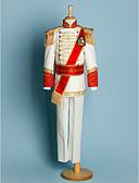 hesapli Yüzük Taşıyıcısı Takımları-Polyester Yüzük Taşıyıcısı Takımı - 5 Parçalar Kapsar Ceket / Gömlek / Pantolonlar / Bel Kuşağı / Askılar