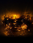 olcso Férfi alsóneműk és zoknik-10m 100 leds halloween dekoratív fények ünnepi szalag fények-hagyományos sárga könnyű húrok (220v)