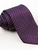 hesapli Erkek Kıravatları ve Papyonları-Erkek Parti İş Polyester Boyun Bağı - Desen
