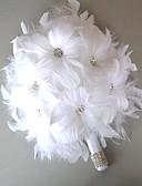 preiswerte Hochzeitskleider-Hochzeitsblumen Sträuße Hochzeit Leder 12 cm ca.