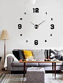 ieftine Ceasuri La Modă-Conceput în China / Modern / Contemporan Carcasă de metal Rotund Interior,1 × Baterie AA / AA