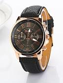 preiswerte Mode Uhr-Damen Uhr Armbanduhr Quartz Gestepptes PU - Kunstleder Schwarz / Weiß / Blau Armbanduhren für den Alltag Analog damas Modisch Elegant Beige Rosa Hellblau / Ein Jahr / Ein Jahr / Jinli 377