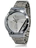 baratos Relógio Elegante-Homens Relógio de Pulso Relógio Casual Aço Inoxidável Banda Amuleto Prata / SODA AG4