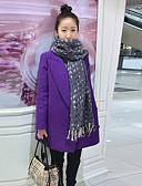 cheap Women's Outerwear-Women's Chic & Modern Dress - Solid Colored, Modern Style