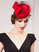 povoljno Stole za vjenčanje-tulle saten kape headpiece vjenčanje party elegantan ženski stil