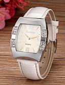 preiswerte Modische Uhren-Damen Armbanduhr Imitation Diamant PU Band Glanz / Modisch / Simulierte Diamant-Uhr Weiß / Blau / Rosa / Ein Jahr / SSUO 377