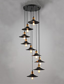 abordables Abrigo y Gabardinas de Mujer-QINGMING® Lámparas Colgantes Luz Downlight - Mini Estilo, 110-120V / 220-240V Bombilla no incluida / 20-30㎡ / E26 / E27