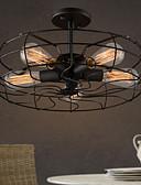 זול גברים-ג'קטים ומעילים-צמודי תקרה תאורה כלפי מטה גימור צבוע מתכת סגנון קטן 110-120V / 220-240V נורה אינה כלולה / E26 / E27