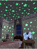cheap Quartz Watches-Wall Decal Decorative Wall Stickers - Luminous Wall Stickers Shapes Removable