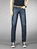 abordables Pantalones y Shorts de Hombre-Hombre Algodón Chinos Pantalones - Un Color
