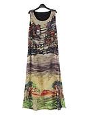 povoljno Ženske haljine-Žene Kinezerije Hlače - Print S izrezom Duga