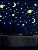 baratos Abrigos e Moletons Masculinos-Paisagem Animais Romance Moda Formas Desenho Animado Fantasia Adesivos de Parede Autocolantes de Parede Luminosos Autocolantes de Parede